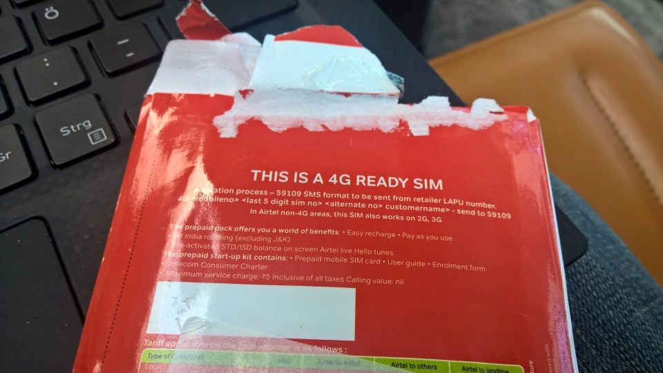 SIM Card in India