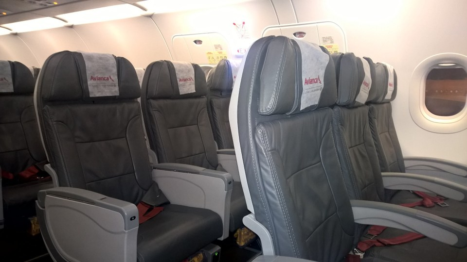 Avianca Brazil Seating