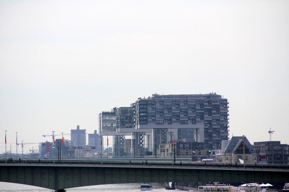 Kranhäuser in Cologne