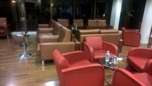 Iberia Lounge Paris Orly Seating