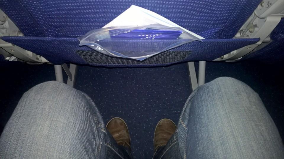 Indigo Airbus A320 Seat