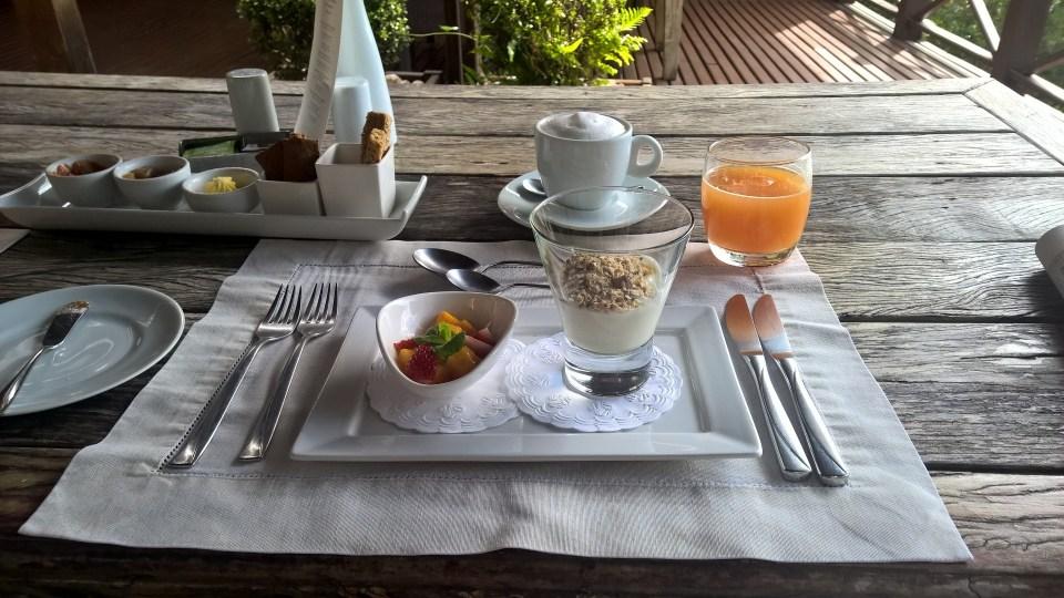 Ponta dos Ganchos Resort Breakfast