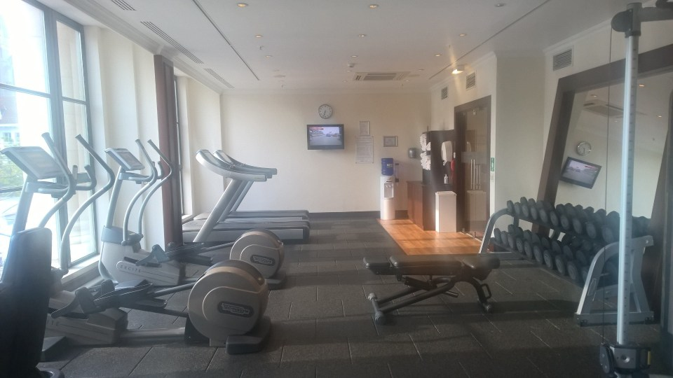 Hilton Antwerp Gym