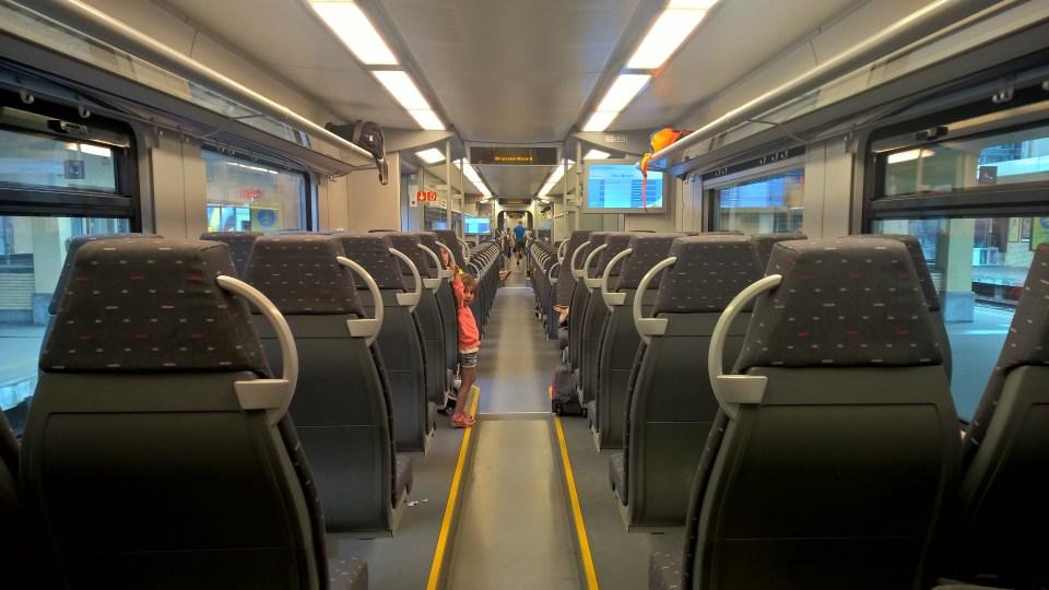 Train Travel in Belgium