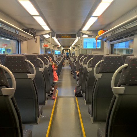 Train Travel in Belgium