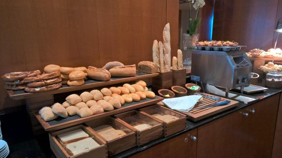 Hilton Prague Breakfast