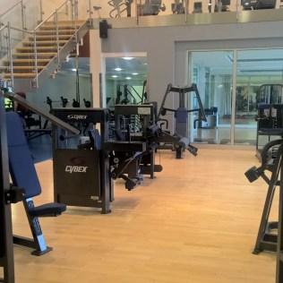 Hilton Prague Gym