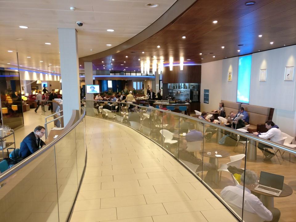 KLM Crown Lounge Amsterdam