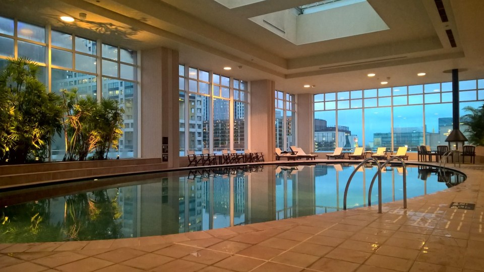 Hilton Tokyo Odaiba Pool