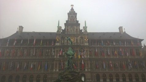 Running in Antwerp