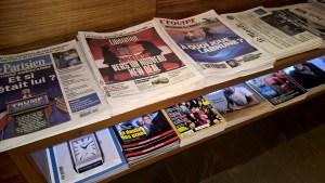 Star Alliance Lounge Paris Newspapers