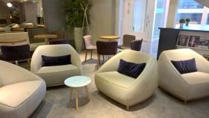 Star Alliance Lounge Paris Seating