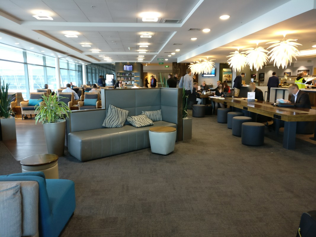 Air New Zealand Domestic Lounge Wellington