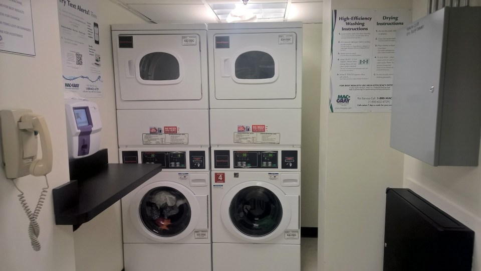 Hyatt Regency DFW Washing Machine