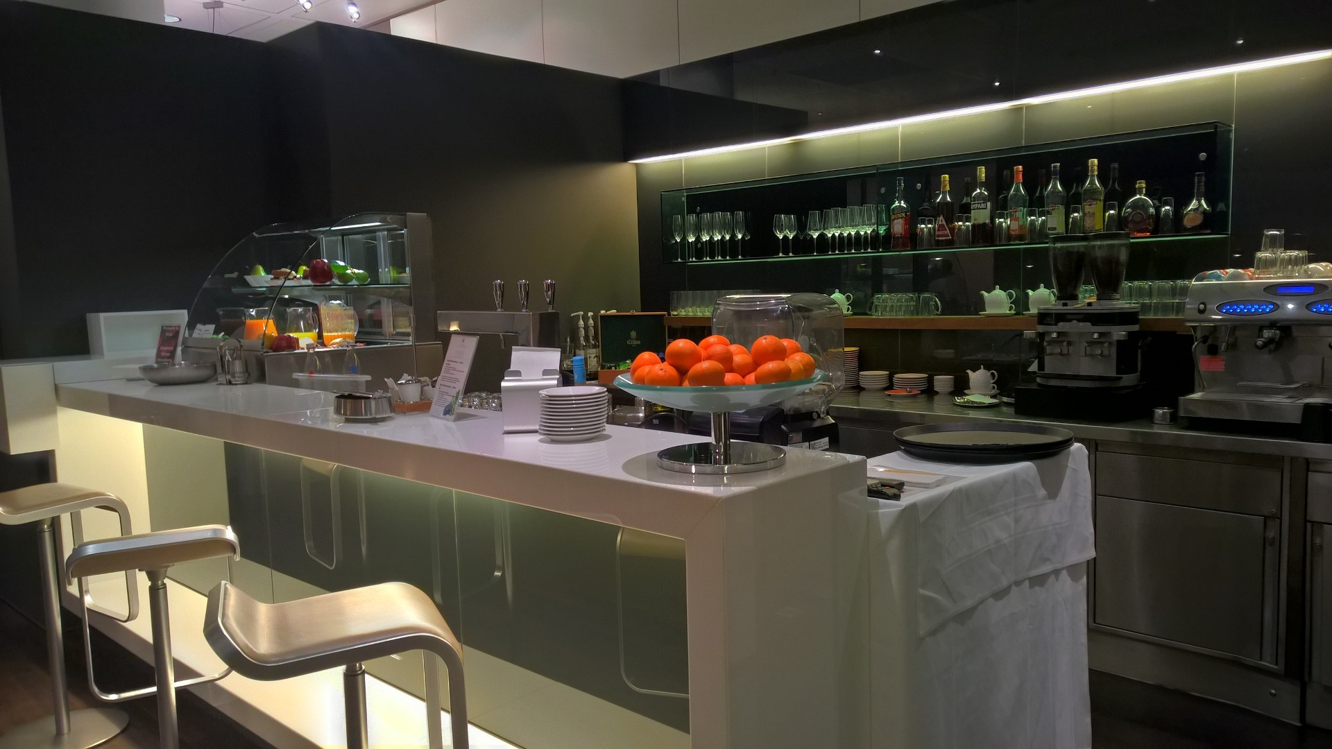 Lufthansa Senator Café Munich Bar