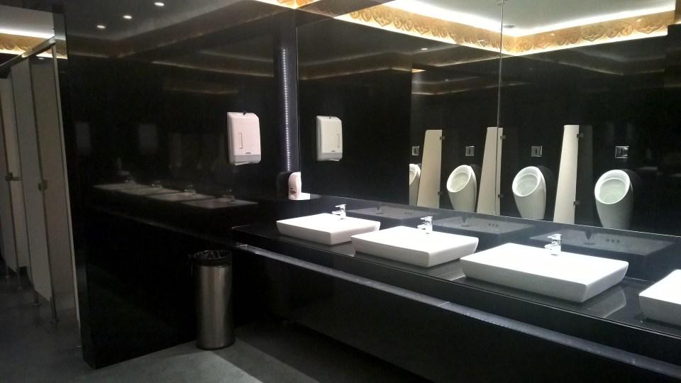 Above Ground Level Lounge Bengaluru Washroom