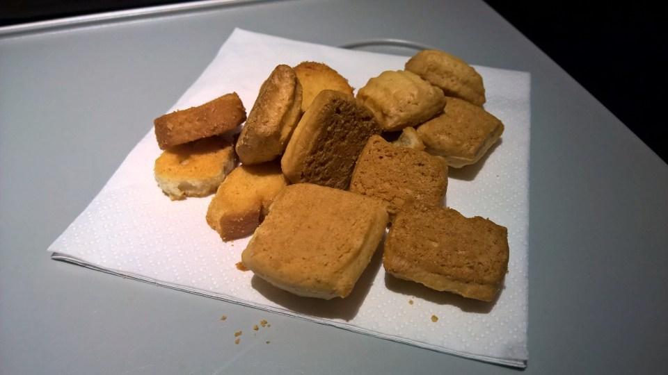 Alitalia domestic Economy Snack