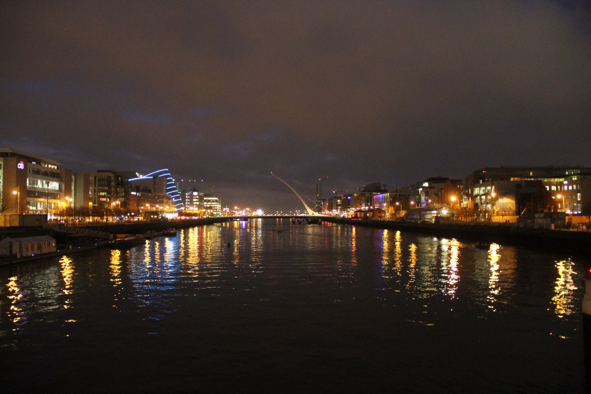 Dublin Skyline by night