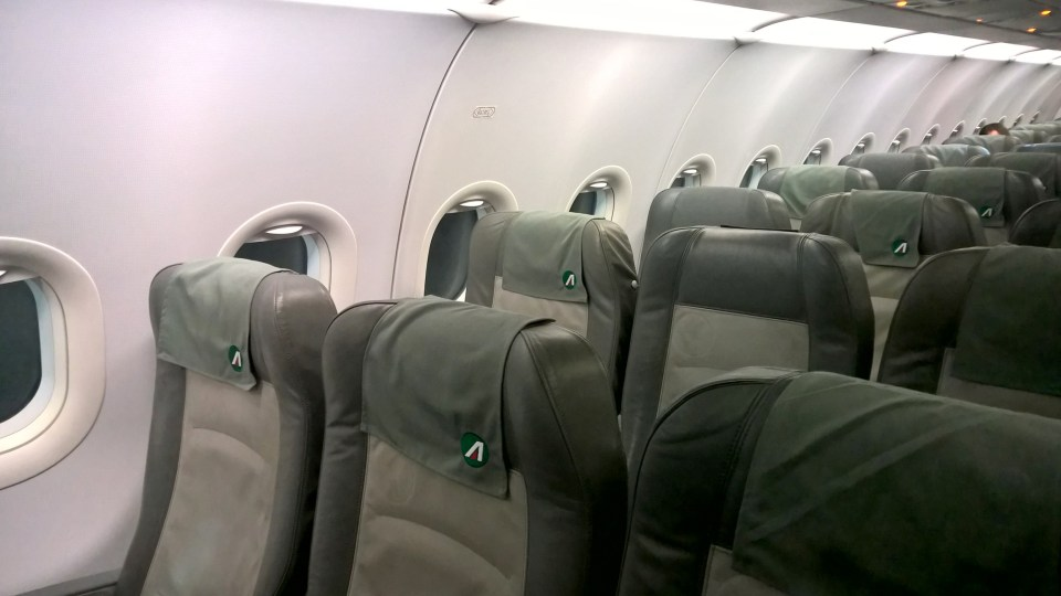 Alitalia domestic Economy