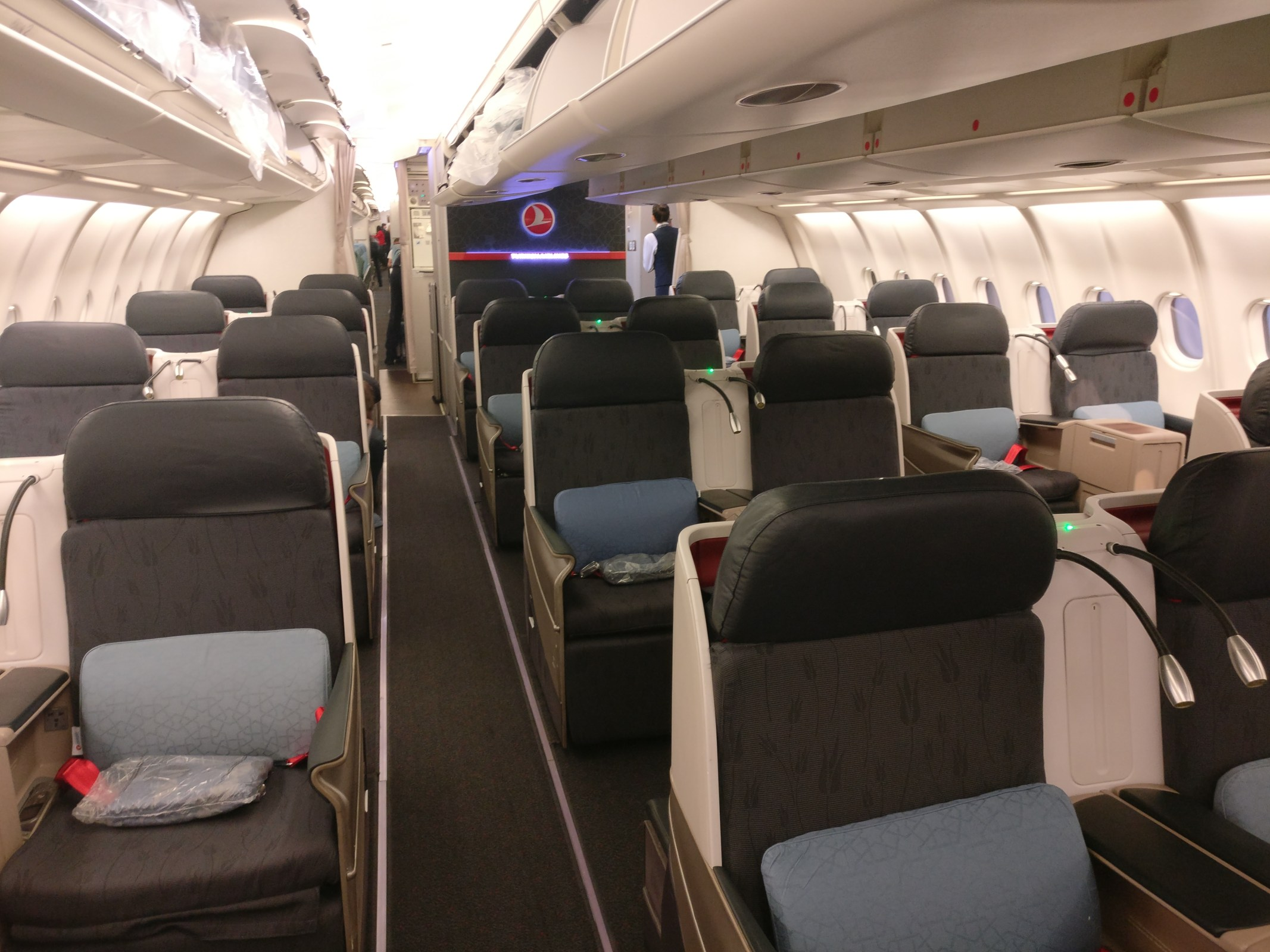 Turkish Airlines Business Class Airbus A330