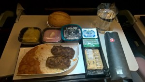 Turkish Airlines Economy Class Catering