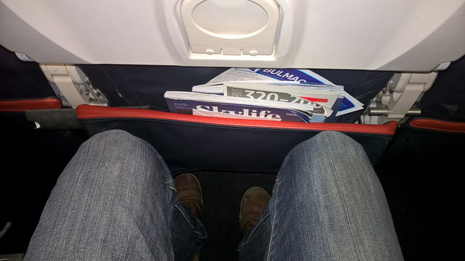 Turkish Airlines Economy Class Seat Pitch