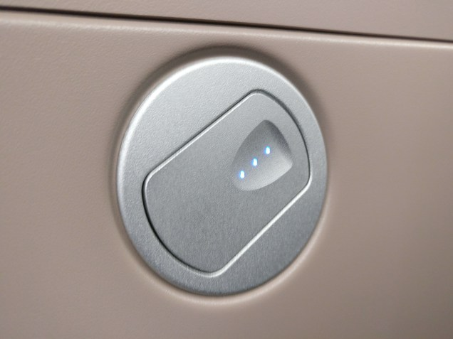 Turkish Airlines Business Class Boeing 777 Seat Controls