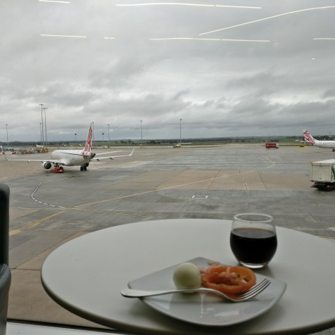 Virgin Australia Lounge Melbourne View