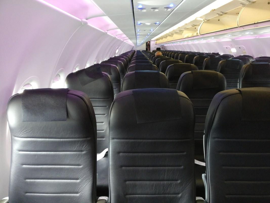 Air New Zealand domestic Economy Class Cabin