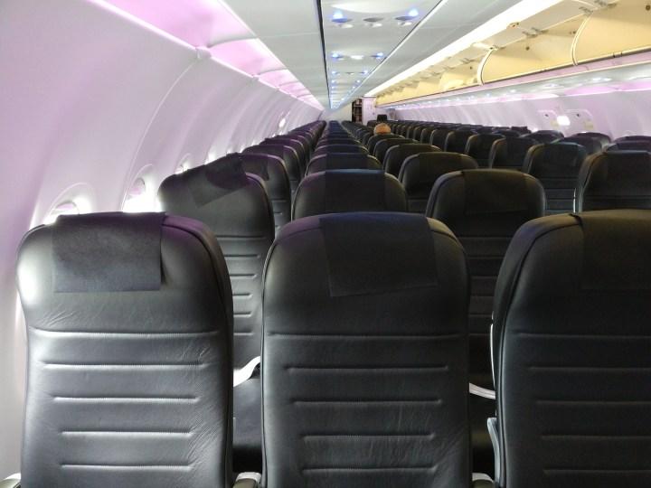 Air New Zealand domestic Economy Class Cabin