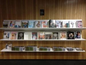 Air New Zealand Koru Lounge Christchurch Magazines