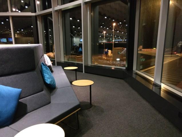 Air New Zealand Koru Lounge Christchurch Seating