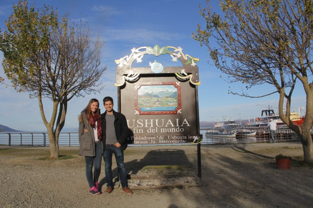 Being tourists in Ushuaia