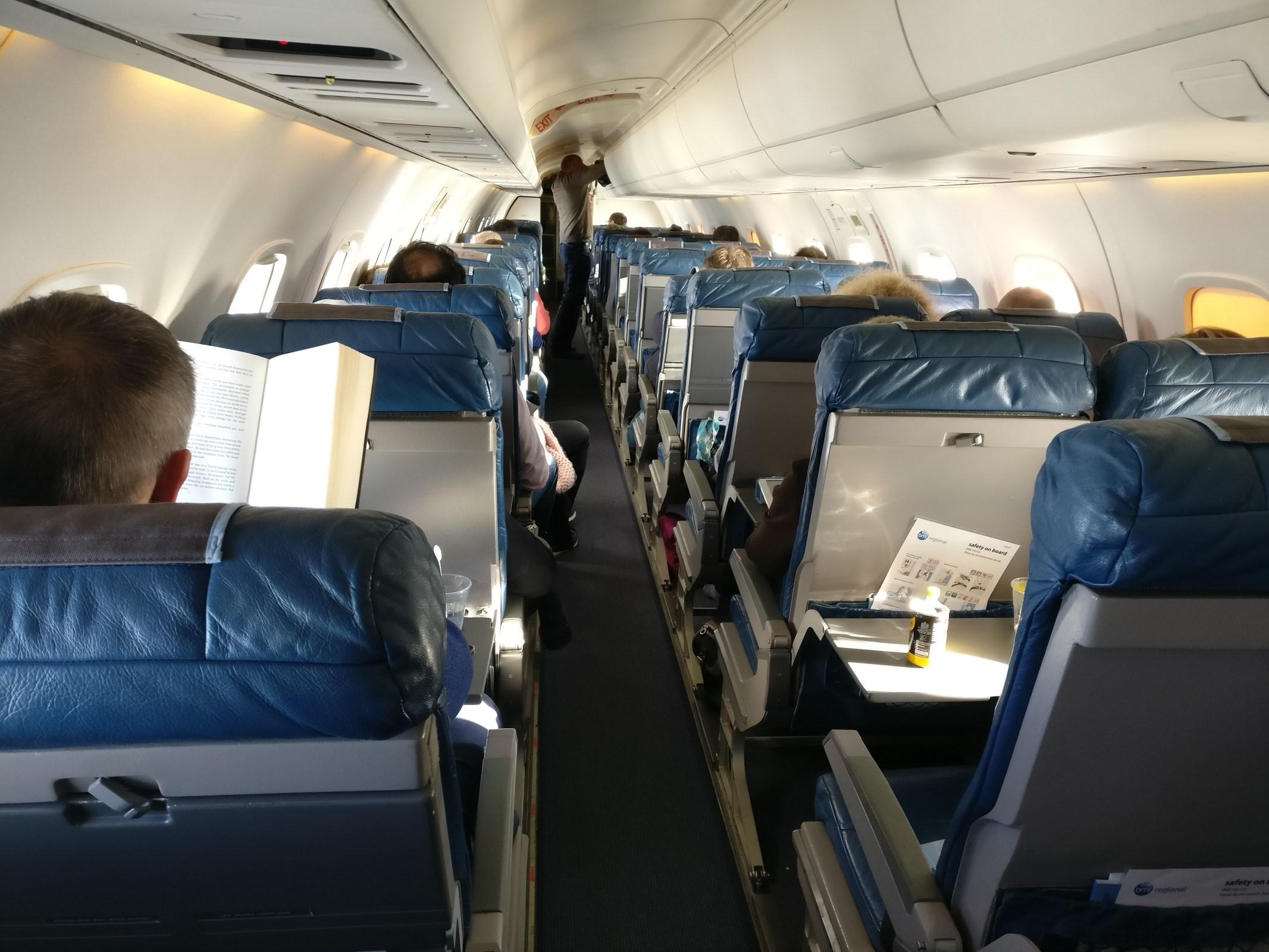 bmi regional Embraer 145 Cabin