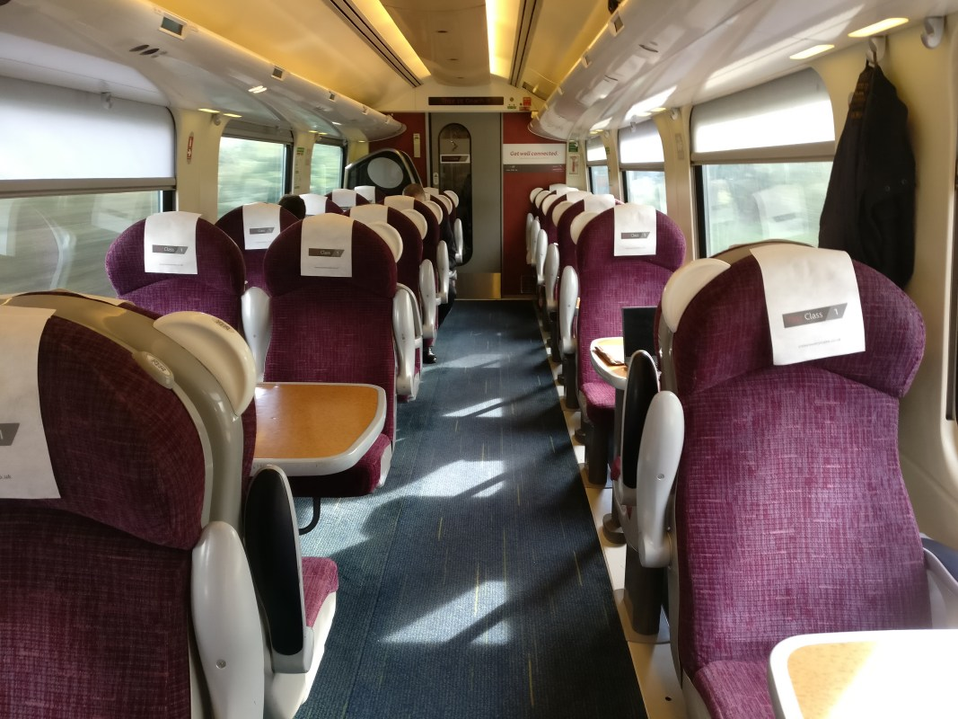CrossCountry First Class Seats