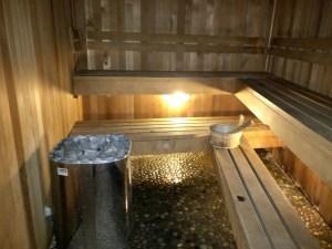 Hilton Queenstown Sauna