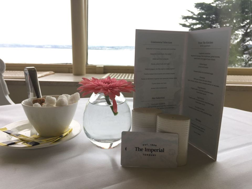 The Imperial Torquay Breakfast