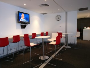 Virgin Australia Lounge Adelaide Seating