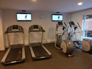 Hilton Garden Inn Montevideo Gym