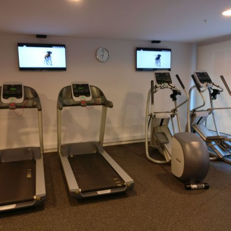 Hilton Garden Inn Montevideo Gym
