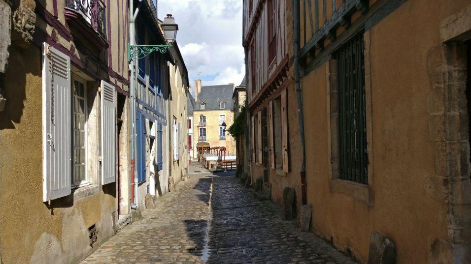 Old Town Rue Saint Flaceau Le Mans