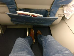 Philippine Airlines regional Business Class Seat