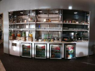 United Club London Heathrow Snack Buffet