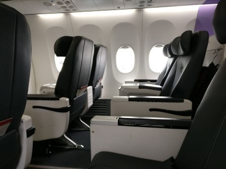 Virgin Australia Domestic Business Class Cabin