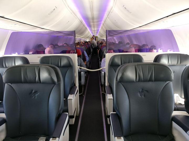 Virgin Australia Domestic Business Class Cabin