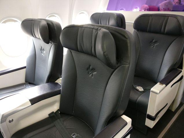 Virgin Australia Domestic Business Class Seat