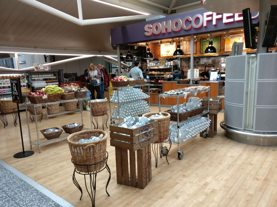 Bristol Airport Shop
