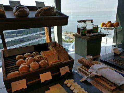 Conrad Manila Executive Lounge Breakfast