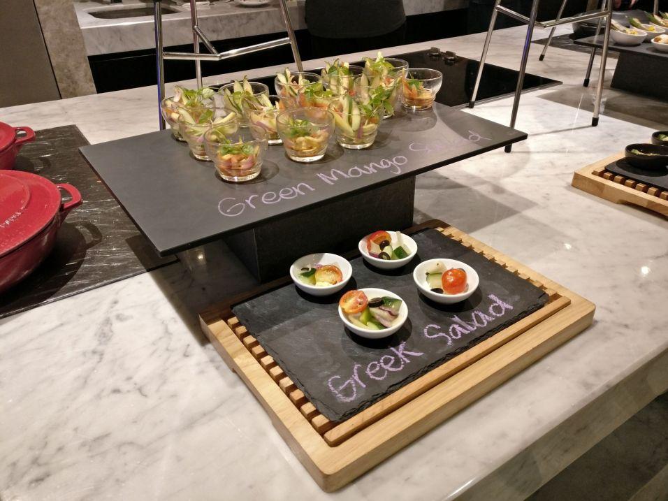 Conrad Manila Executive Lounge Dinner