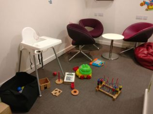 Executive Lounge Dublin T1 Kid's Corner